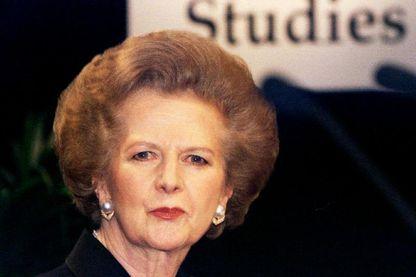 Margaret Thatcher, le 11 janvier 1996