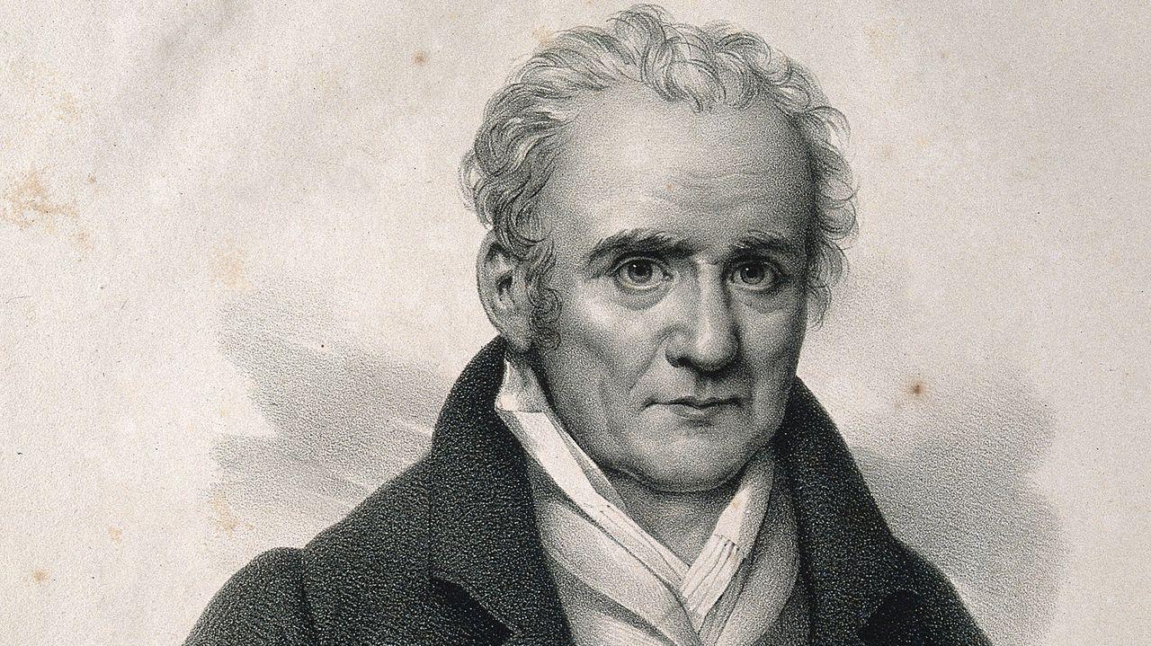 Gaspard Monge (1746-1818), Comte de Péluse. Lithographie  de H. J. Hesse.