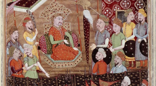 Sohrab avec le chef militaire