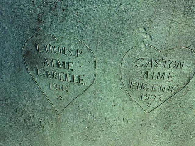 Les amoureux de 1903
