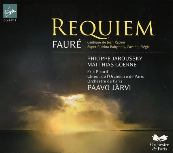 Fauré  Requiem  Jarvi  Orchestre et Choeur de Paris