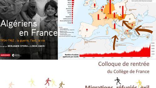 Épisode 7 : Benjamin Stora, Sur les histoires de trois immigrations en France au XXe siècle, François Héran, De la « crise des migrants » à la crise de l'Europe. Approches démographiques...