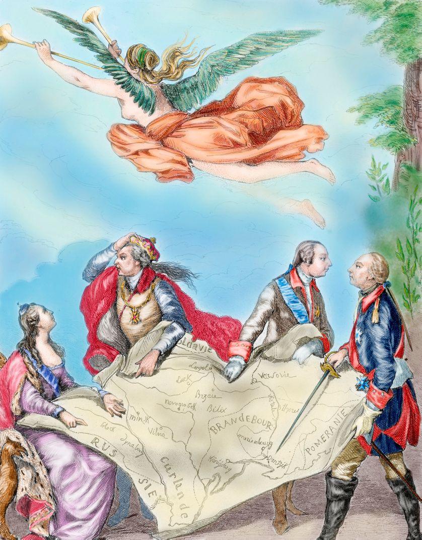 Allégorie de la paix, Pologne, 1772