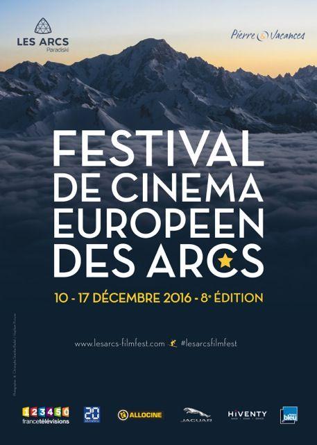Affiche du festival de cinéma européen des Arcs