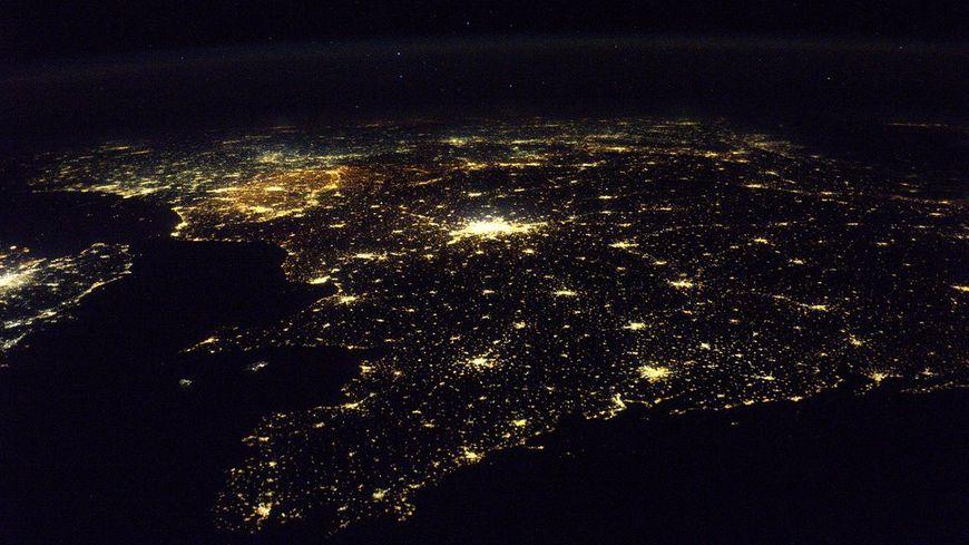 La Bretagne photographiée de l'ISS par l'astonaute Thomas Pesquet