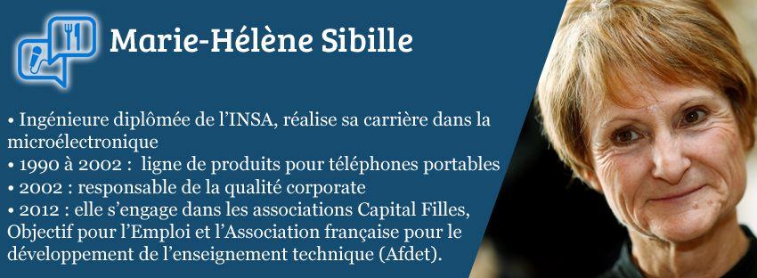 Convive chef d'entreprise - Marie-Hélène Sibille