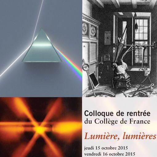 Un prisme équilatéral dispersif réfractant et reflétant un rayon entrant de lumière blanche uniforme / Ole Rømer dans son observatoire domestique à t. Kannikestræ à Copenhague (1735)