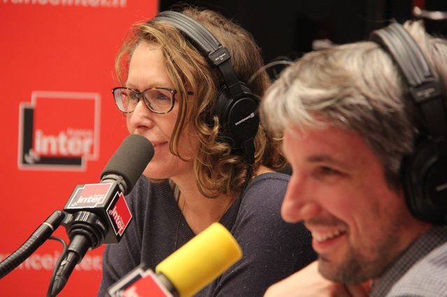 Pascale Clark et Guillaume Meurice