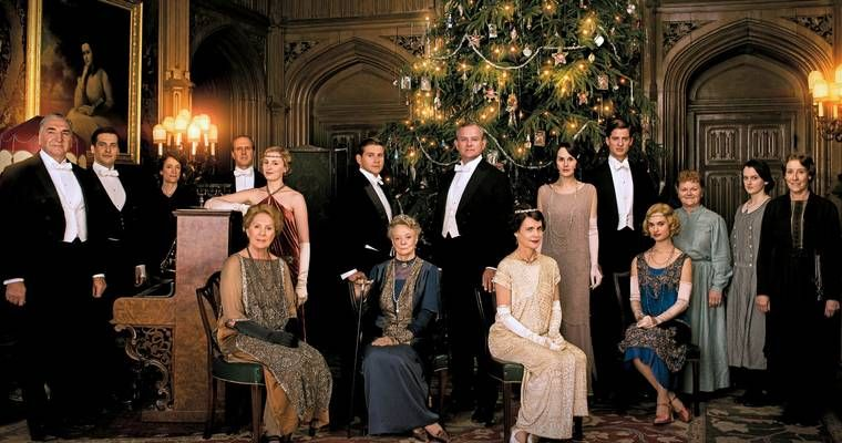 Downton Abbey, une série produite par PBS