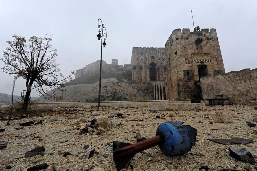Alep, la Citadelle, 13 décembre 2016