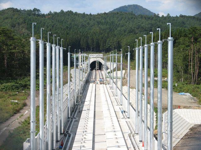 Le tunnel sous l'Hakkōda au Japon