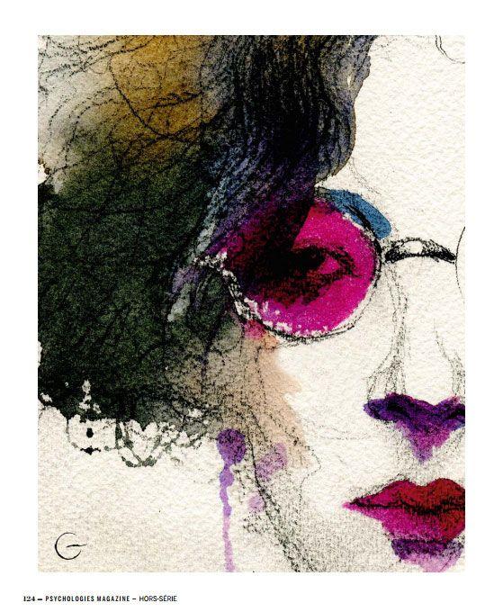 """Portrait de Simone Weil pour le Hors-Série de Psychologies Magazine du mois de décembre : """"20 maîtres de vie essentiels""""•"""