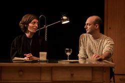 "Laure Mathis et David Geselson dans ""Doreen"""