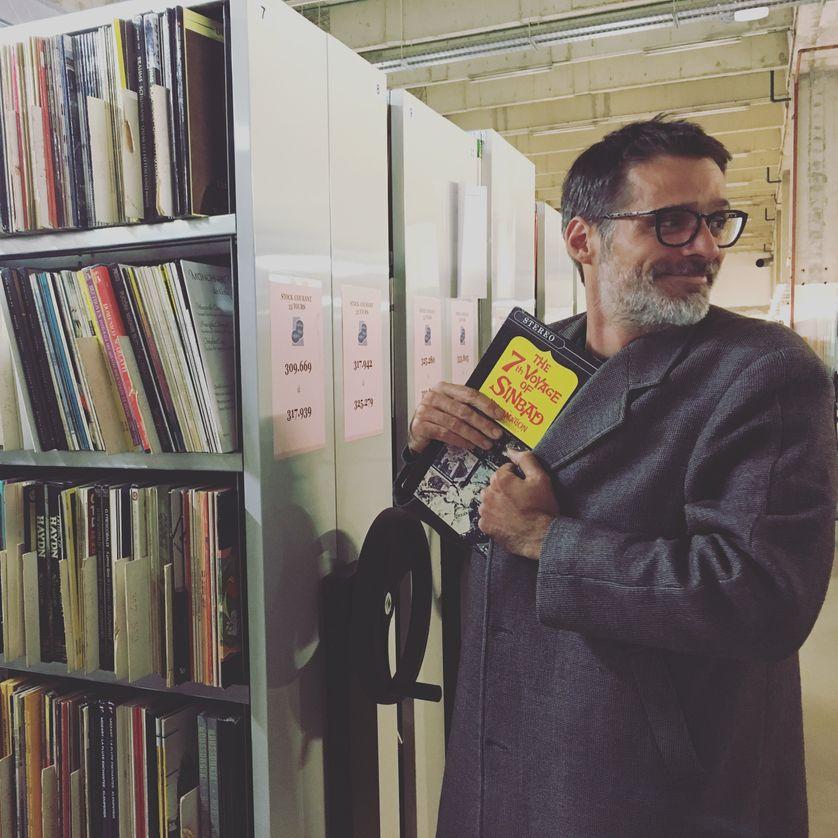 Rubin Steiner dans les archives vinyles de Radiofrance