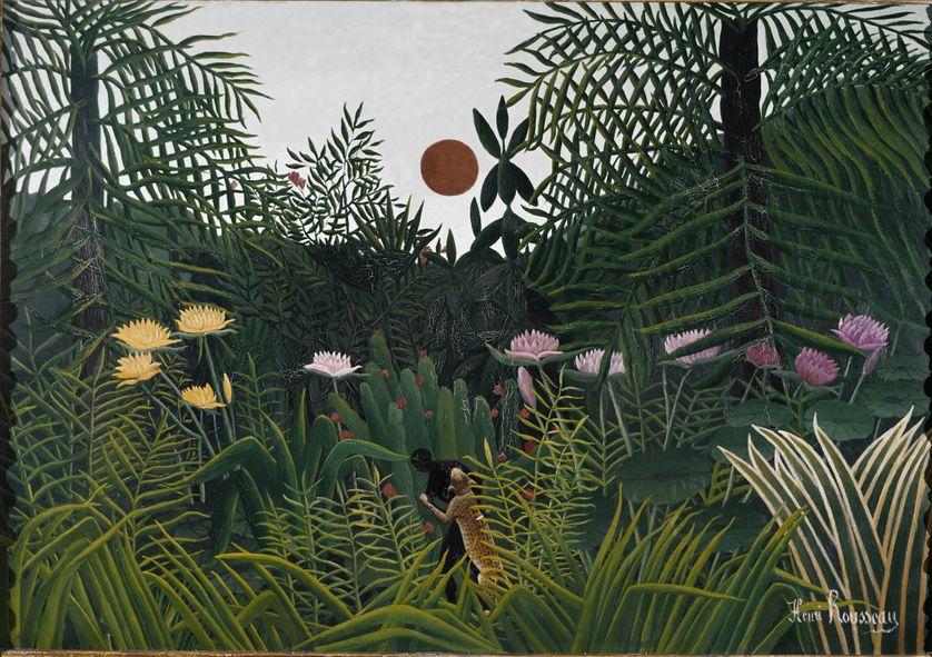 La Jungle équatoriale du Douanier Rousseau