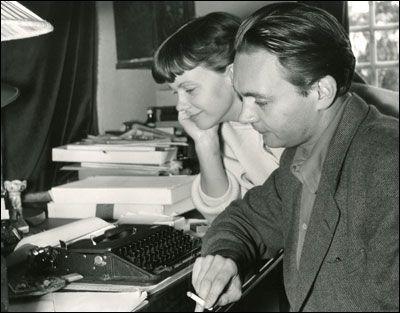 Stig Dagerman et sa femme Anita en 1950