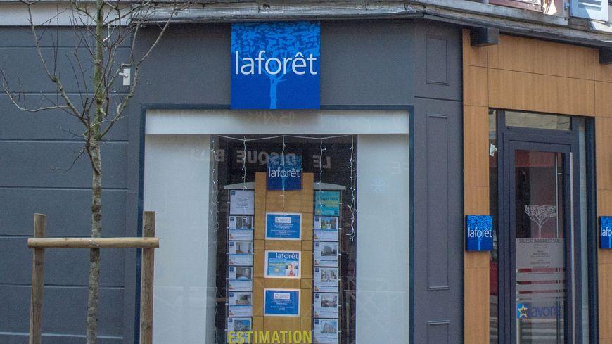 Une agence immobilière Laforêt (photo d'illustration)