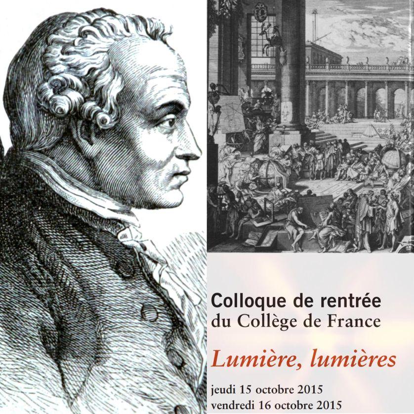 Emmanuel Kant / Gravure représentant l'Académie Des Sciences, 1698.