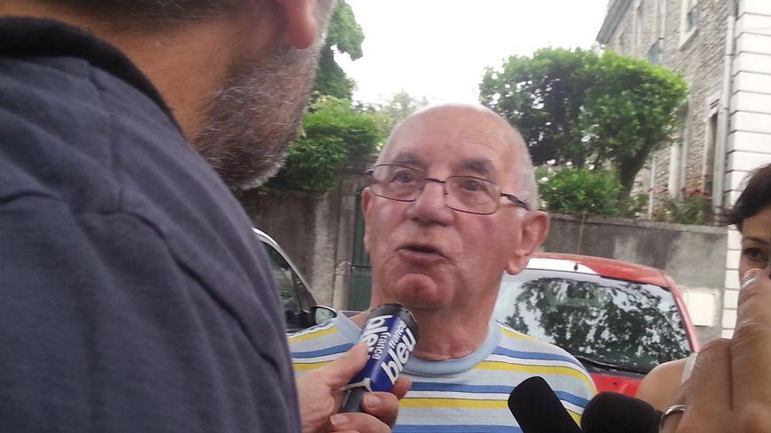 Claude Ducos a parlé à la presse lors du premier procès