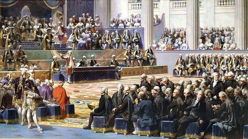 Ouverture des États généraux à Versailles, 5 mai 1789,