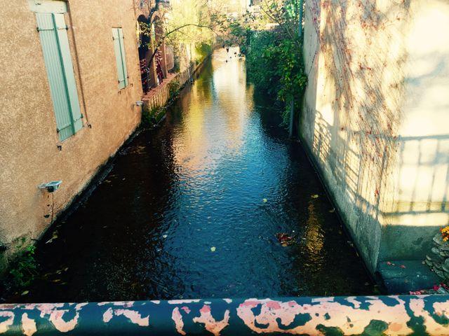 Pamiers, ville entourée de canaux
