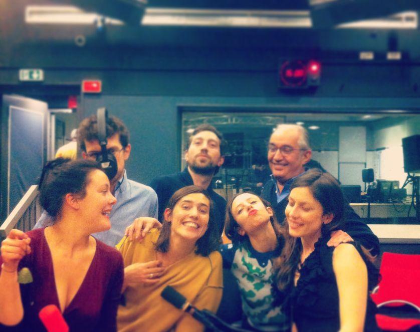 Zoé Sfez, Victor Macé de Lépinay, Mathilde Serrell, Ludovic Piedtenu, Géraldine Mosna-Savoye, Alain Kruger, Marie Richeux