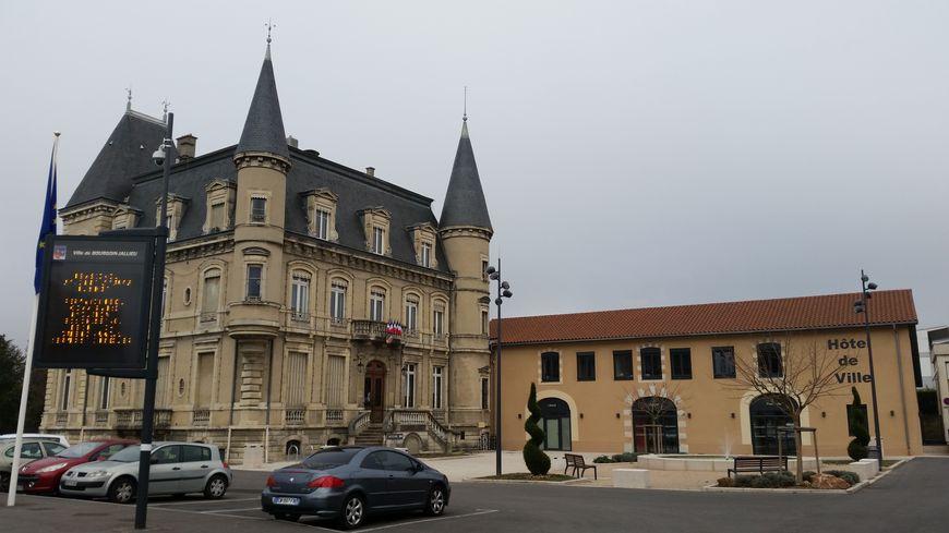 La mairie de Bourgoin-Jallieu