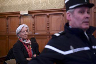 Christine Lagarde, le 12 décembre dernier lors de son procès à la CJR