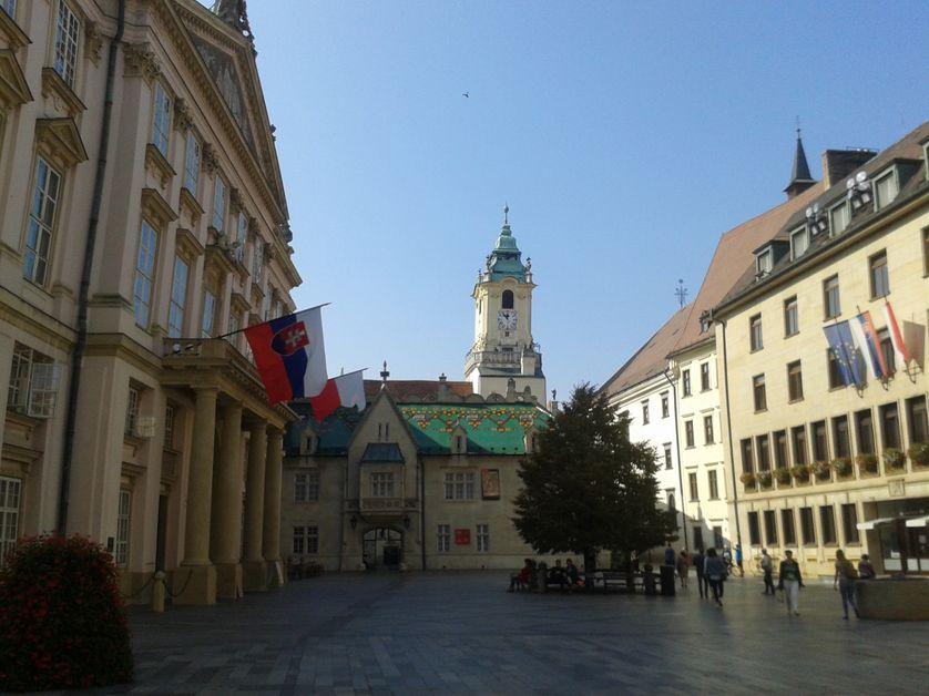 Vieille ville de Bratislava, capitale de la Slovaquie