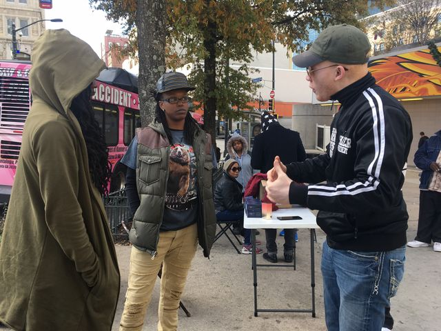 A Atlanta, avec les Black Lives Matter