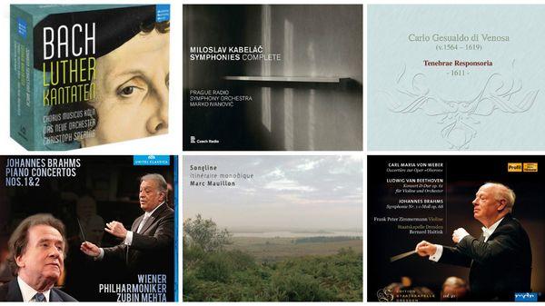 L'actualité du disque : Bach, Brahms et Gesualdo