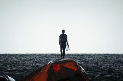 """Image extraite du film """"Premier contact"""" (titre original : """"Arrival"""")"""
