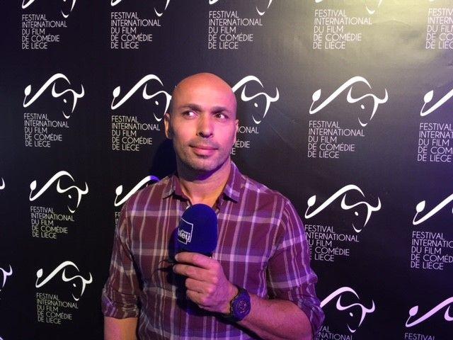 Eric Judor Président Jury Festival film Comédie Liège