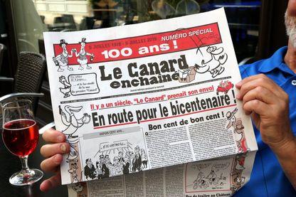 Le Canard Enchaîné a 100 ans ! (le 6 juillet 2016)