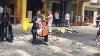 Karim Wasfi : en Irak, le violoncelle de la paix