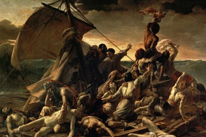 Le Radeau de la Méduse, 1818 - 1819 par Théodore Géricault