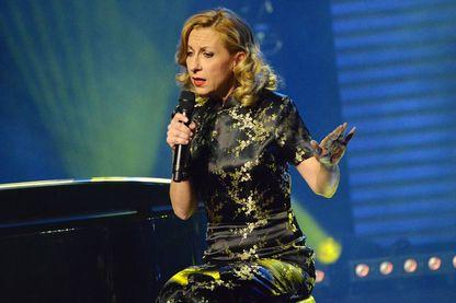 Natalie Dessay lors de 'La 3eme Nuit De La Deprime 2015' aux Folies Bergères