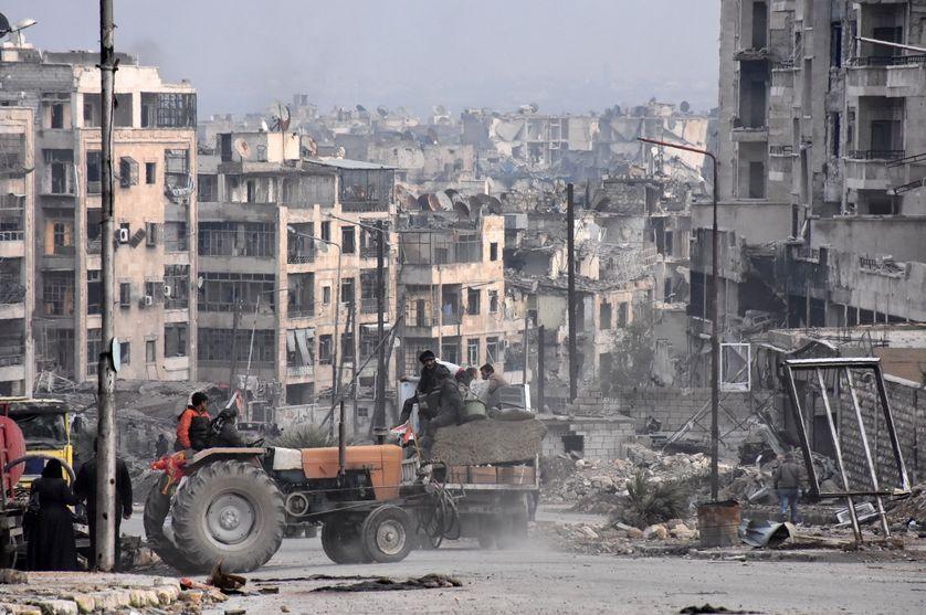 Alep le 23 décembre 2016