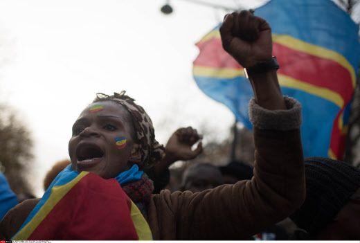 Manifestation de protestation contre le président Kabila