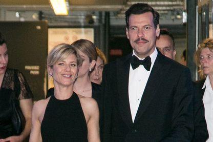 Marina Foïs et Laurent Lafitte au 69e Festival de Cannes - 22 mai 2016