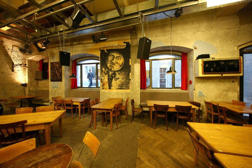 22/01/2016 Le cabaret Voltaire où naquit le mouvement Dada dans la Spiegelgasse à Zurich en Suisse