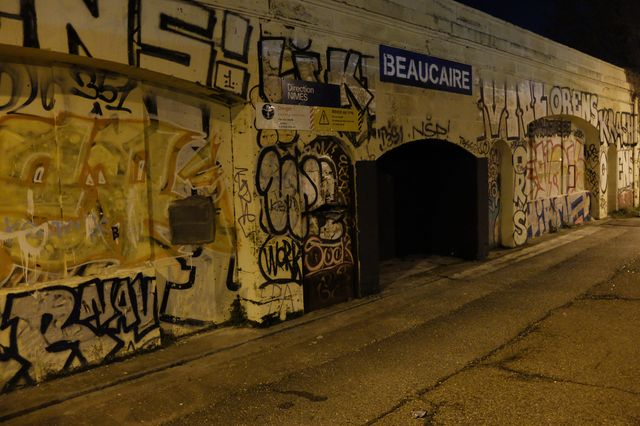La gare de Beaucaire