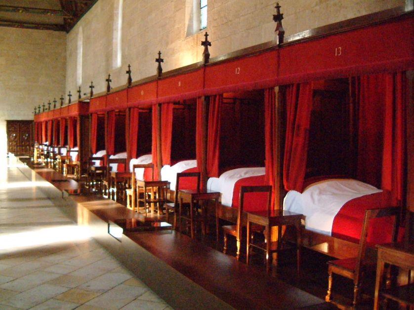 Les hospices de Beaune en Bourgogne