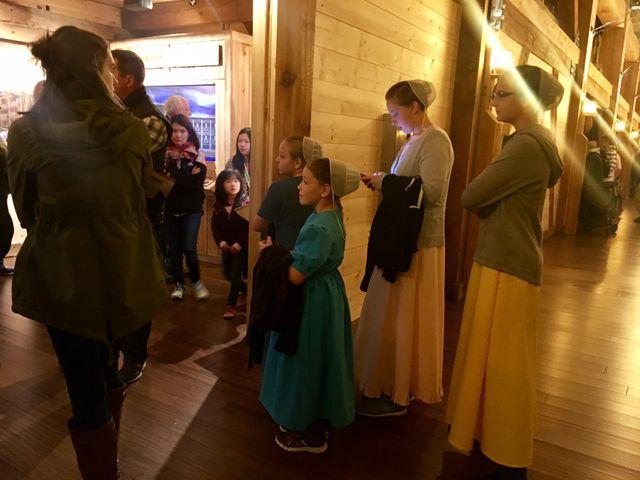 visite de l'Arche de Noé reconstituée