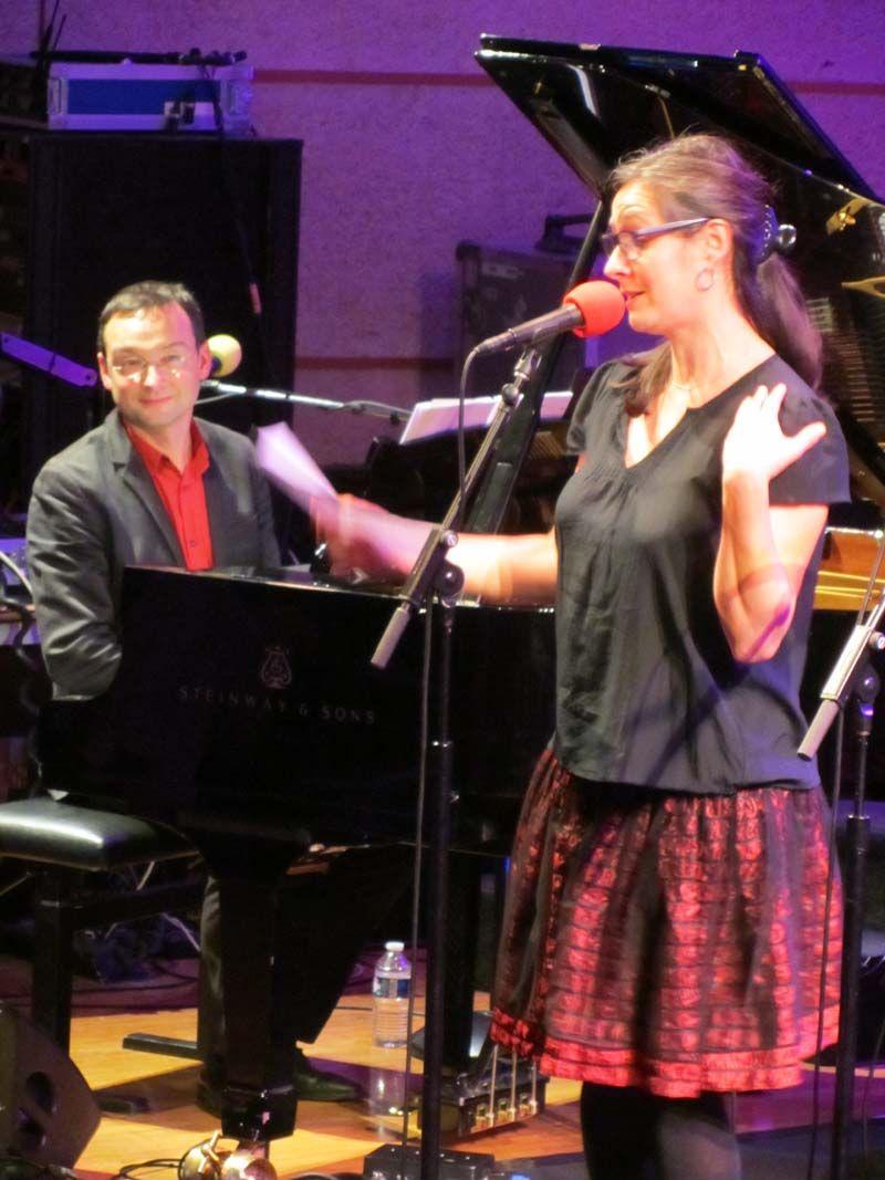 Violaine Schwartz et Vadim Sher