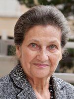 Portrait de Simone Veil en  2008 au Grand Hôtel de Cabourg.