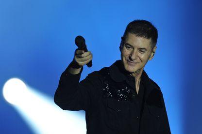 Etienne Daho, sur scène lors du festival Francofolies de La Rochelle le 10 Juillet 2015.