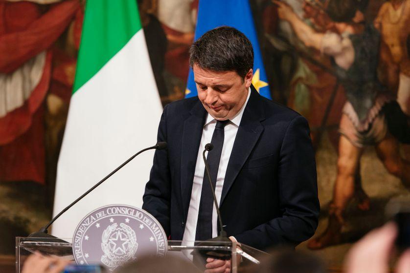 Le Premier Ministre italien annonce sa démission le 4 décembre 2016.
