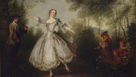"""Nicolas Lancret, """"La Camargo dansant"""""""
