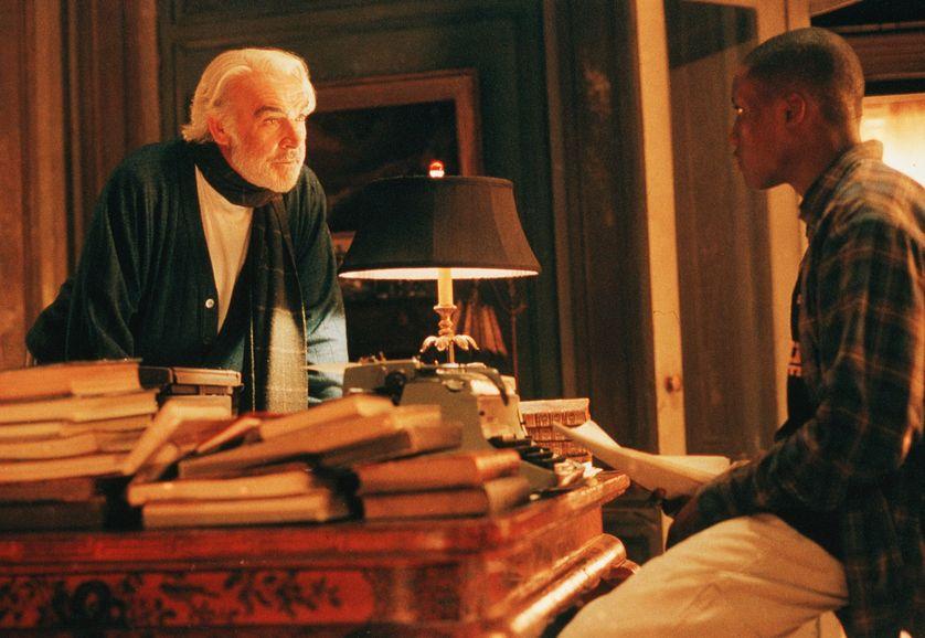 """Sean Connery et Rob Brown dans """"A la recherche de Forrester"""", film de Gus Van Sant réalisé en 2000"""